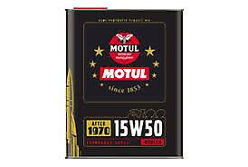 AFTER 1970  15w50 MOTUL 2100
