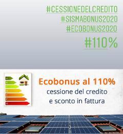 Agevolazioni Ecobonus - Sismabonus 110%
