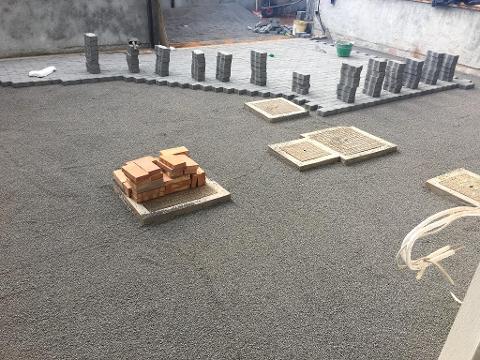 Realizzazione di muratura in pietra