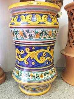 Portaombrelli albarello Laura Buzzetta ceramica arredo