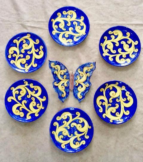 Piatti decorativi Laura Buzzetta  Ceramica artigianale