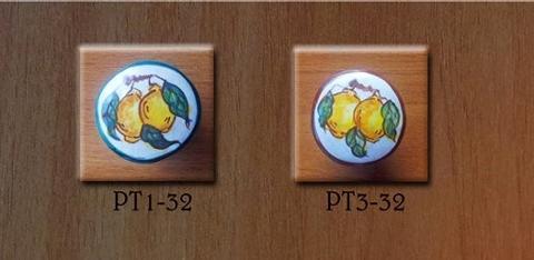 Pomello personalizzato- Decoro Frutta Limone Laura Buzzetta - PomArt personalizzato