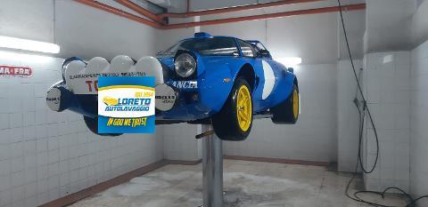 Lavaggio sottoscocca dell'auto