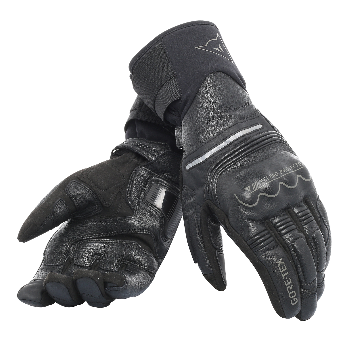 UNIVERSE GORE-TEX® GLOVES + GORE GRIP TECHNOLOGY Dainese BLACK/BLACK