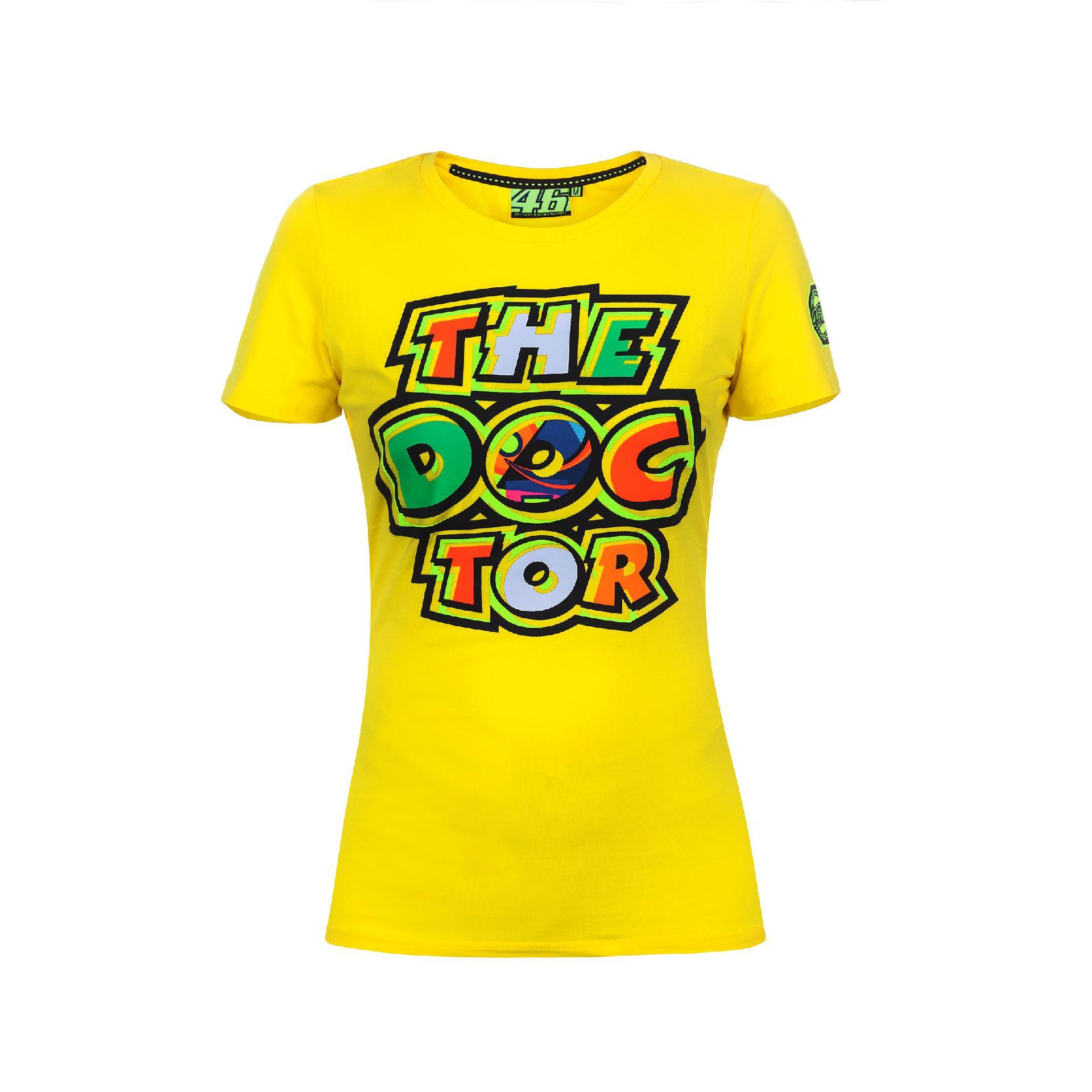 T Valentino Vr46 Donna 46 Rossi Shirt 2017 Vr 5AR4Lj