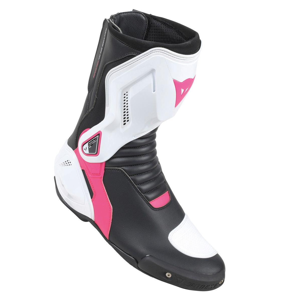 NEXUS LADY BOOTS Dainese Black/White/Fuchsia