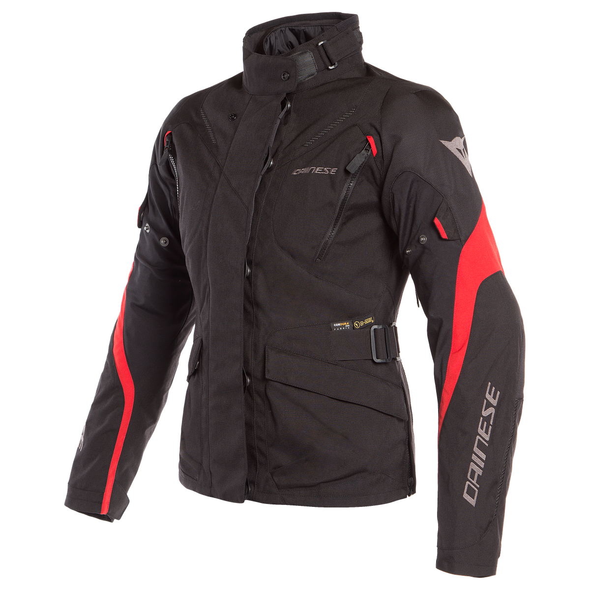 TEMPEST 2 D-DRY LADY JACKET Dainese Black/Black/Tour-Red