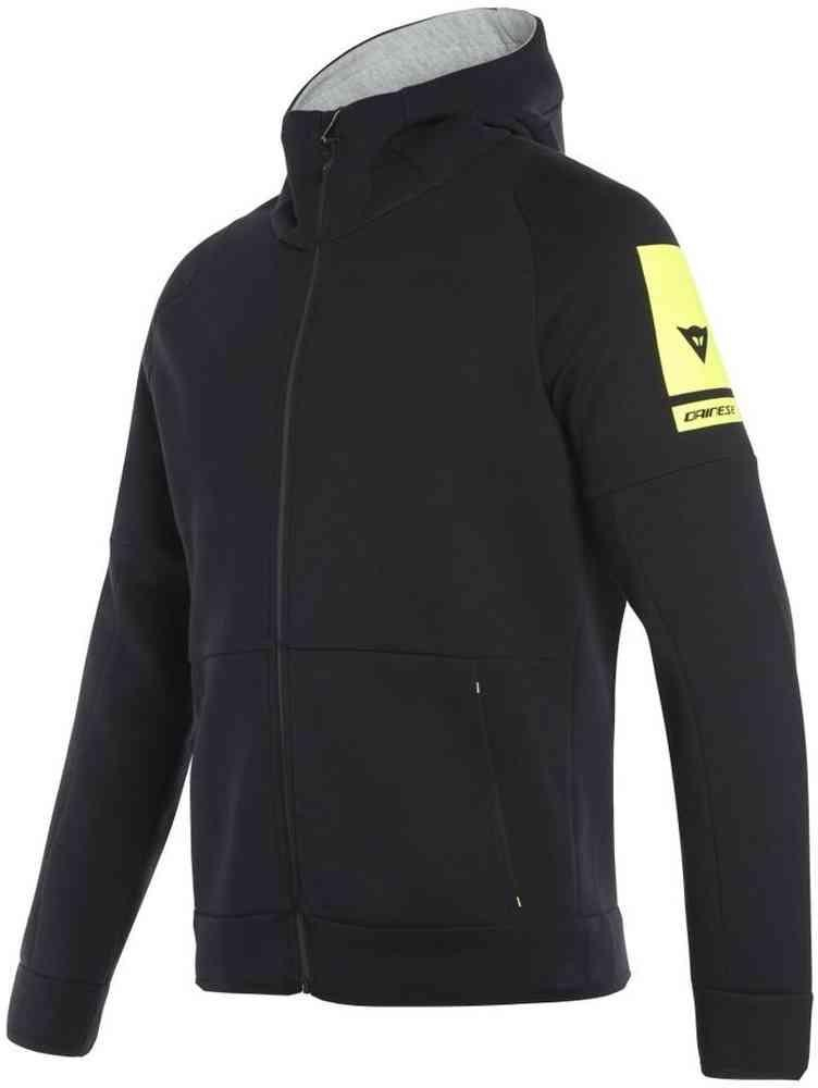 DAINESE FULL-ZIP HOODIE - BLACK Dainese  felpa casual wear moto/scooter/tempo libero