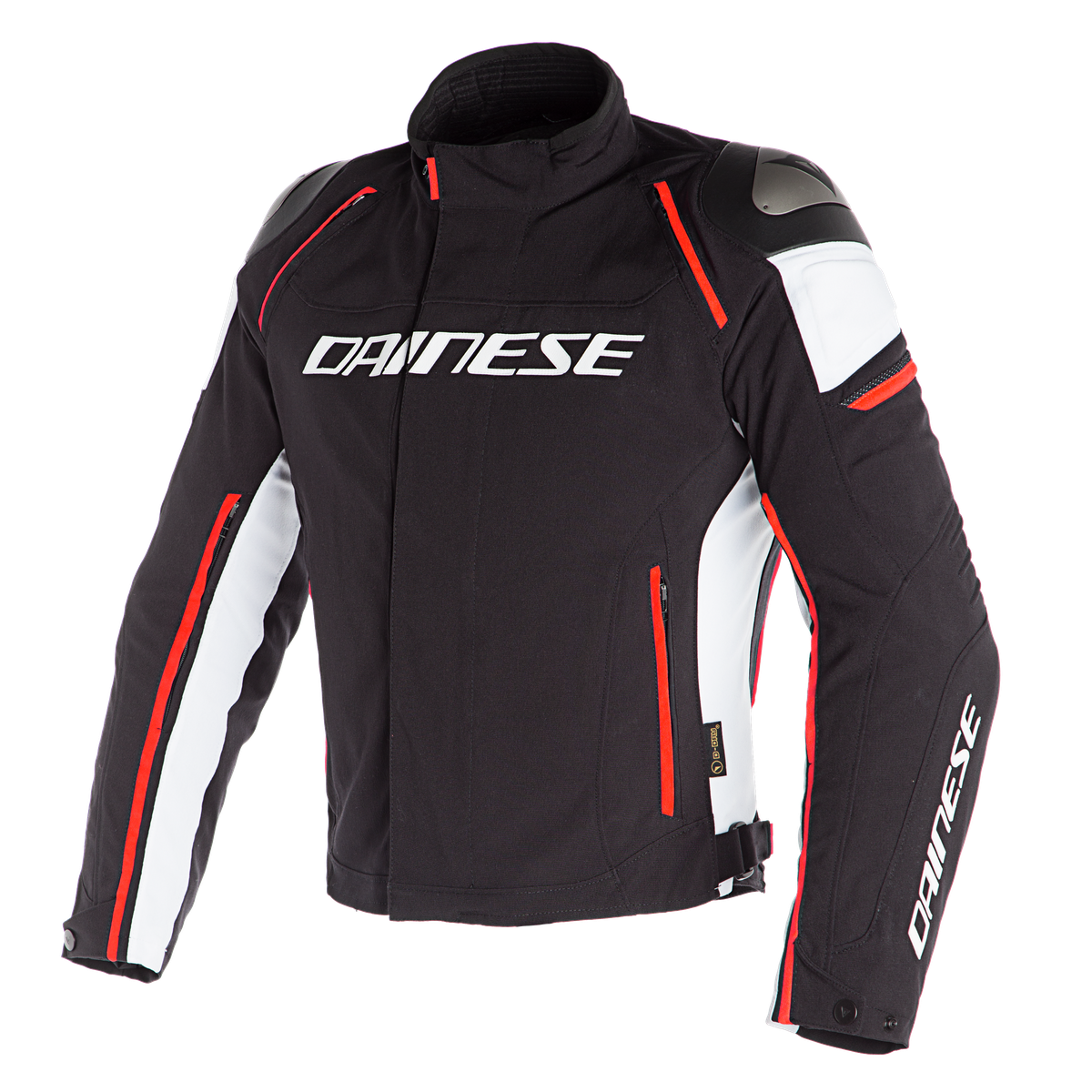 RACING 3 D-DRY Dainese BLACK/WHITE/FLUO-RED