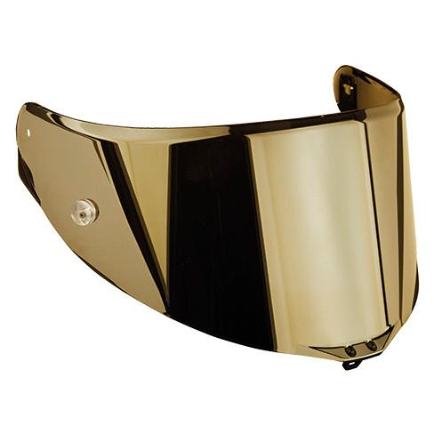 VISIERA PISTA GP R - VELOCE S - CORSA R - VISOR RACE 2 AS AGV IRIDIUM GOLD
