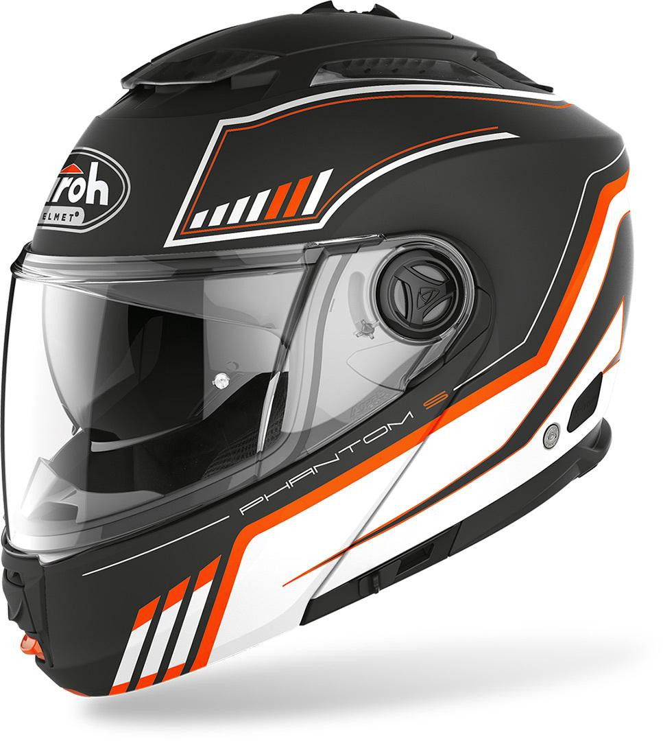 Airoh Phantom S Beat  AIROH Casco modulare in HRT (High Resistant Thermoplastic