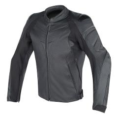 FIGHTER LEATHER JACKET Dainese BLACK/BLACK