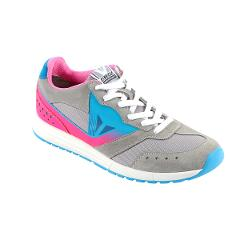 PADDOCK LADY SHOES Dainese  Light-Gray/Fuchsia/Fluo-Blue