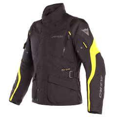 TEMPEST 2 D-DRY JACKET Dainese Black/Black/Fluo-Yellow