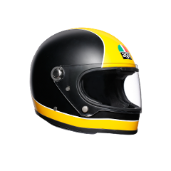 X3000 MULTI  AGV SUPER AGV MATT BLACK/YELLOW