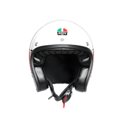 X70 MULTI E2205 -  AGV  MINO 73 WHITE/RED