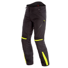 TEMPEST 2 D-DRY PANT Dainese Black/Black/Fluo-Yellow