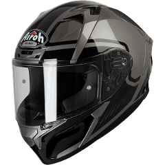 VALOR MARSHALL GREY ON-ROAD HELMET AIROH Casco ON-ROAD in resina termoplastica