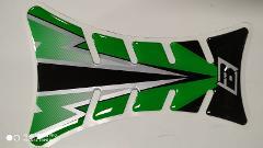PARASERBATOIO TANK PROTECTOR ROAD RACING BLACKBIRD FLASH GREEN