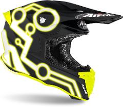 Airoh Twist 2.0 NEON FLUO Casco Motocross AIROH Casco off-road - cross in resina termoplastica