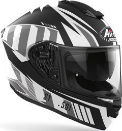 ST 501 - BLADE WHITE  AIROH CASCO FULL FACE TRI-COMPOSITE