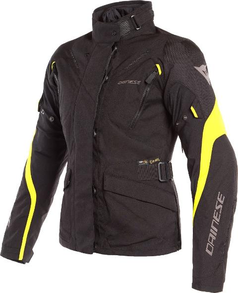 TEMPEST 2 D-DRY LADY JACKET Dainese Black/Black/Fluo-Yellow