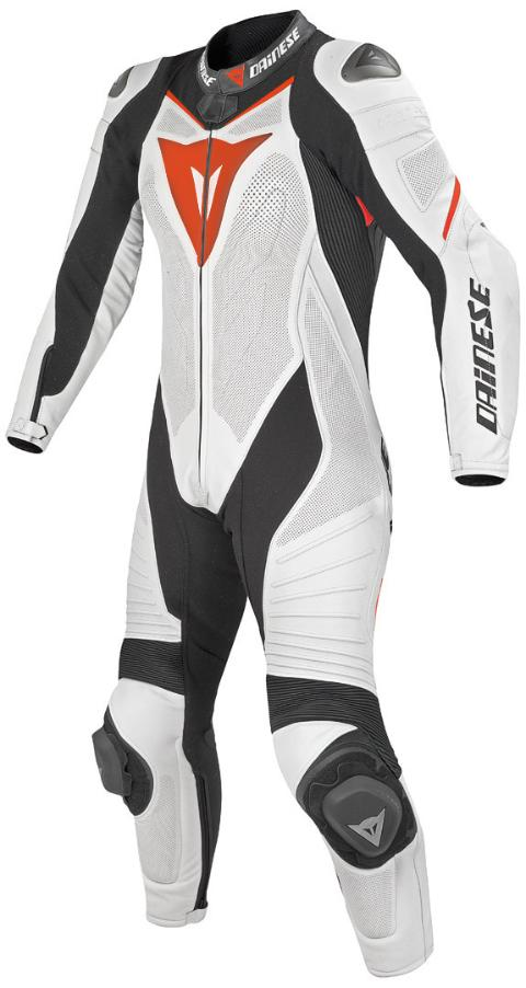 LAGUNA SECA EVO 1 PC LADY SUIT Dainese  white/black/red fluo