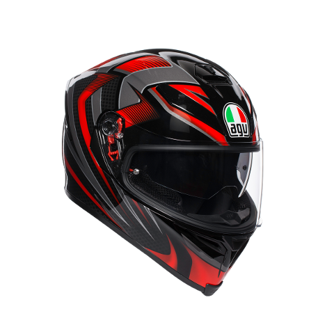K-5 S MULTI AGV HURRICANE 2.0 BLACK/RED
