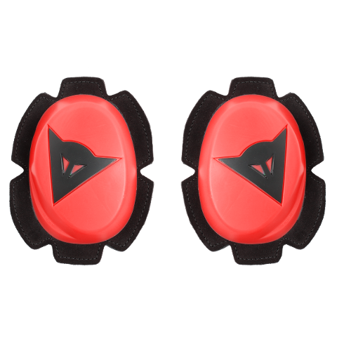 PISTA KNEE SLIDER Dainese  FLUO-RED/BLACK