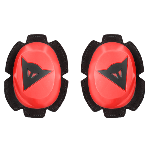 PISTA RAIN KNEE SLIDER Dainese  FLUO-RED/BLACK