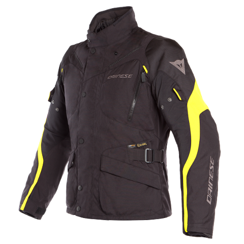 TEMPEST 2 - GIACCA MOTO TOURING URBAN IN CORDURA D-DRY Dainese Black/Black/Fluo-Yellow
