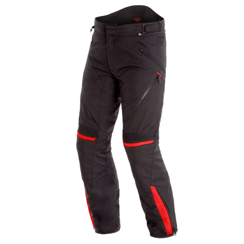TEMPEST 2 D-DRY PANT Dainese Black/Black/Tour-Red
