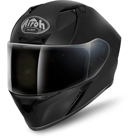VALOR BLACK MATT ON-ROAD HELMET AIROH Casco ON-ROAD in resina termoplastica