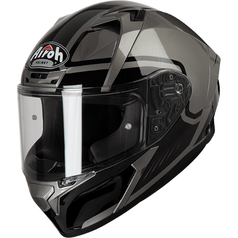 VALOR MARSHALL GREY ON-ROAD HELMET AIROH Casco ON-ROAD in resina termoplastica - Palermo