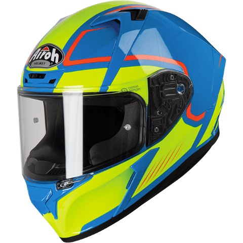 VALOR MARSHALL AZURE ON-ROAD HELMET AIROH Casco ON-ROAD in resina termoplastica