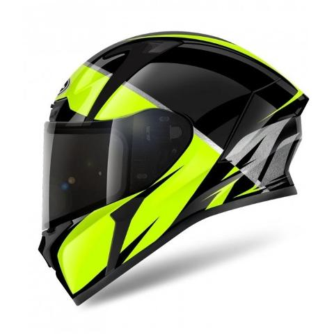 VALOR ECLIPSE YELLOW ON-ROAD HELMET AIROH Casco ON-ROAD in resina termoplastica