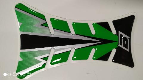 PARASERBATOIO TANK PROTECTOR ROAD RACING BLACKBIRD FLASH GREEN