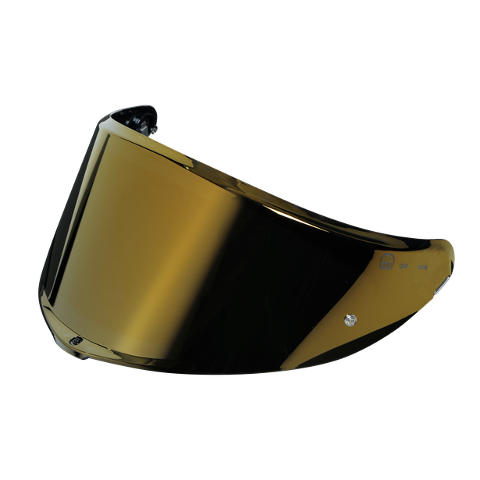 VISIERA SPORTMODULAR - VISOR GT3 - 2 AS - ( XL - 3XL ) AGV IRIDIUM GOLD