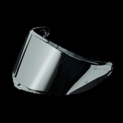 VISIERA SPORTMODULAR - VISOR GT3 - 2 AS - ( XL - 3XL ) AGV IRIDIUM SILVER