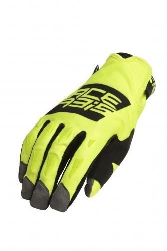 MX WP GLOVES - GUANTO DA MOTO INVERNALE ANTIPIOGGIA ACERBIS YELLOW/BLACK