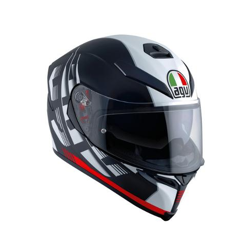 K5 S E2205 MULTI AGV DARKSTORM MATT BLACK/RED