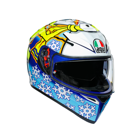 K3 SV E2205 TOP AGV ROSSI WINTER TEST 2016