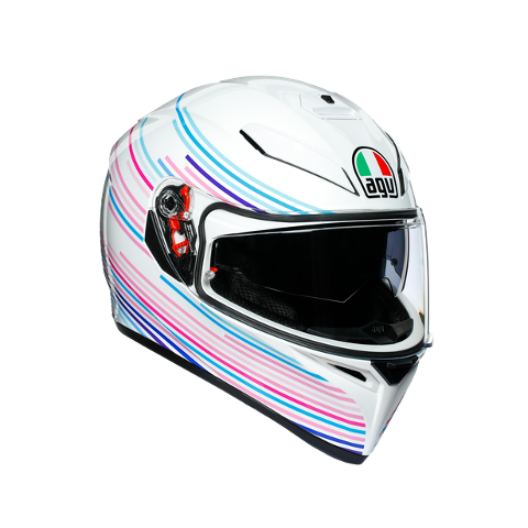 K3 SV E2205 MULTI AGV SAKURA PEARL WHITE/PURPLE