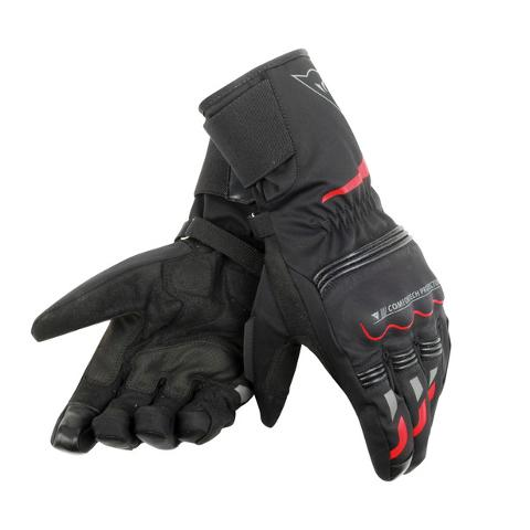 TEMPEST UNISEX D-DRY® LONG GLOVES Dainese black/red