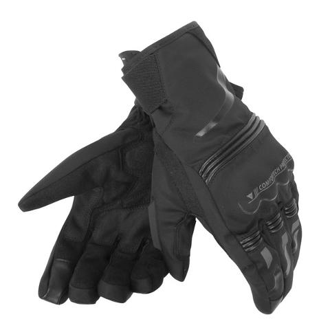 TEMPEST UNISEX D-DRY® SHORT GLOVES Dainese BLACK