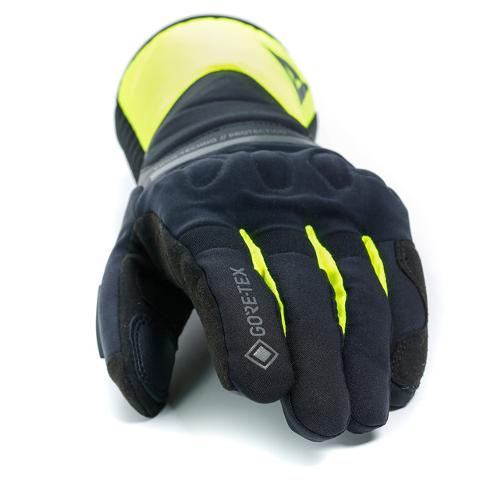 NEMBO GORE-TEX GLOVES+GORE GRIP TECHNOLOGY Dainese Black/Fluo-Yellow