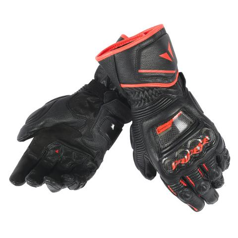 DRUID D1 LONG GLOVES Dainese Black/Black/Fluo-Red
