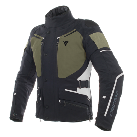 GIACCA MOTO SPORT TOURING IN GORE-TEX E TESSUTO MUGELLO Dainese CARVE MASTER 2 Black/Grape-Leaf/Light-Gray
