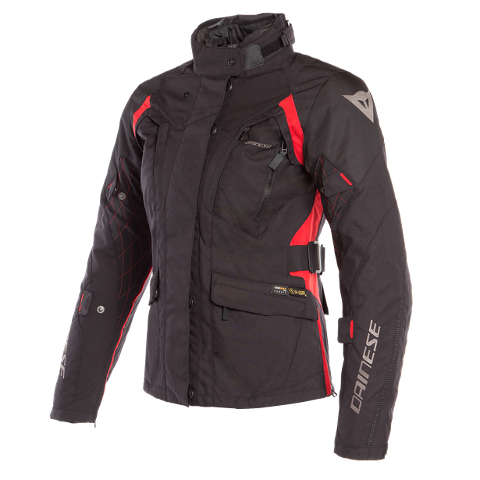 X-TOURER D-DRY LADY JACKET Dainese  Black/Black/Tour-Red