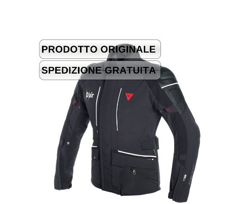 CYCLONE D-AIR® - GIACCA GORETEX CON SISTEMA D AIR STAND ALONE  Dainese BLACK/BLACK